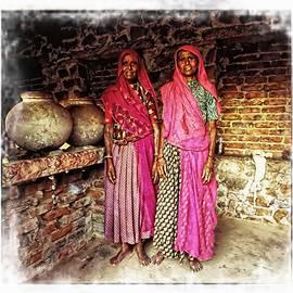 Sue Jacobi - Portrait Sisters Village Elders Seniors Indian Rajasthani 1