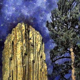 Postcard from Wyoming by RC DeWinter