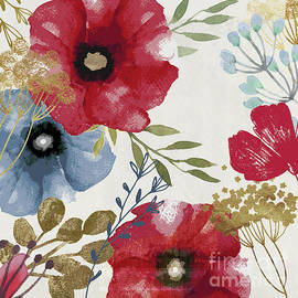 Mindy Sommers - Posy Watercolor Poppies