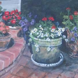 Paula Pagliughi - Potted Flowers