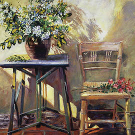 Pottery Maker's Table by David Lloyd Glover