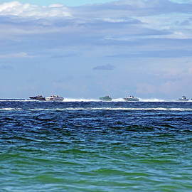 Debbie Oppermann - Power Boat Race - Englewood Florida