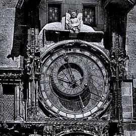 C H Apperson - Prague Astronomical Clock 2 BW