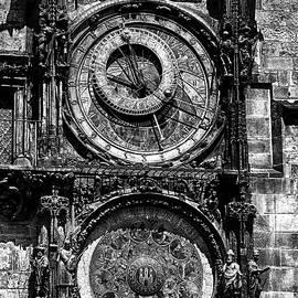 C H Apperson - Prague Astronomical Clock BW