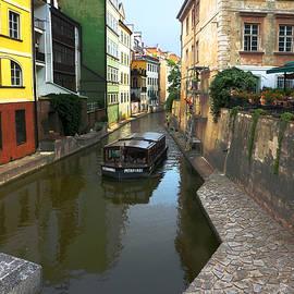 C H Apperson - Prague Canal