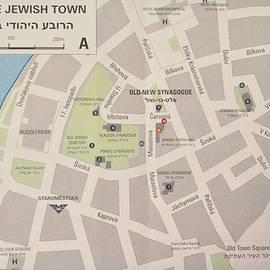 Caroline Stella - Prague Jewish Town Map