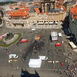 C H Apperson - Prague Old Town Square