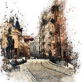 Justyna JBJart - Prague street art