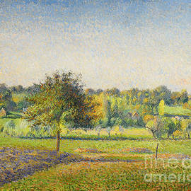 Camille Pissarro - Prairie A Eragny