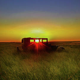 Prairie Sunset by Frank Vargo