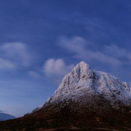 Starry Pre Dawn Winter Mountain Blues by Grant Glendinning