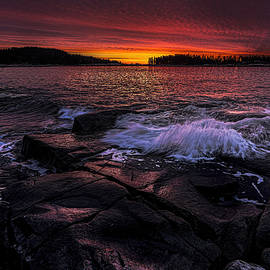 Marty Saccone - Pre Dawn Light At Schoodic