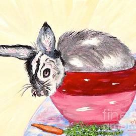 Phyllis Kaltenbach - Pretty Bowl Bunny