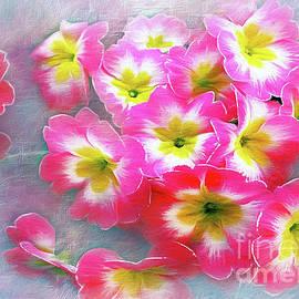 Kaye Menner - Pretty Pink Pansies
