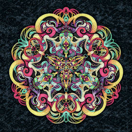 Grace Iradian - Pretty Textured Mandala