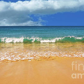 Pretty Waves in Paradise by Kaye Menner