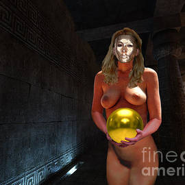 Priestess in the Catacombs by Broken Soldier