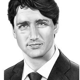 Prime minister Justin Trudeau by Murphy Elliott