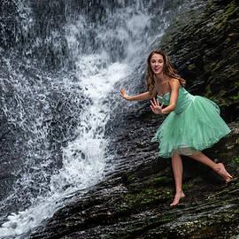 Princess at the Waterfall by Matt Plyler