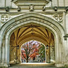 Geraldine Scull - Princeton Gothic arches