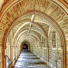 Geraldine Scull - Princeton University Courtyard arches