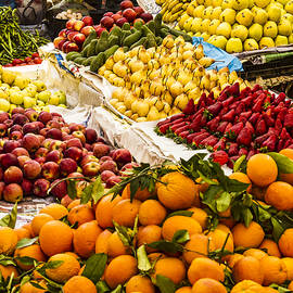 Produce Market in Fes by Lindley Johnson