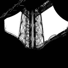 Profile of the Eiffel Tower. by Cyril Jayant