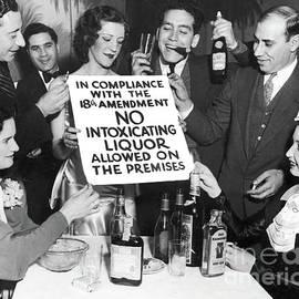 Prohibition Ends Let
