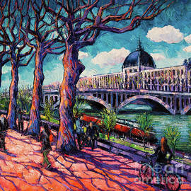 Mona Edulesco - Promenade along the Rhone
