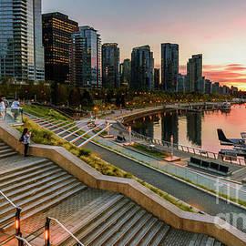 Promenade in Vancouver. by Viktor Birkus