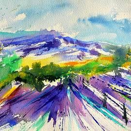 Pol Ledent - Provence and lavender