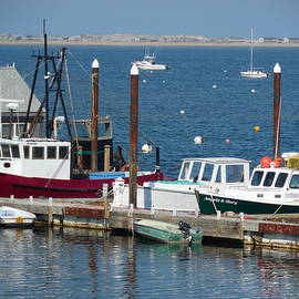 Provincetown Harbor by Mike Niday