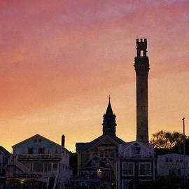 Provincetown Sunset by David Gordon