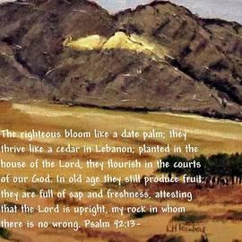 Psalm 92 by Linda Feinberg