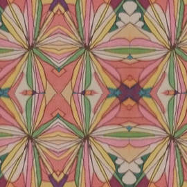 Psychedelic 2 4 17 #1 by Modern Metro Patterns and Textiles