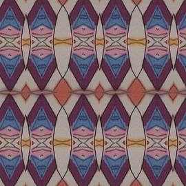 Psychedelic 2 5 17 by Modern Metro Patterns and Textiles