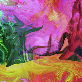 Psychedelic Fun House by Linda Sannuti
