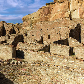 Pueblo Bonito in Chaco Canyon by Kathleen Bishop