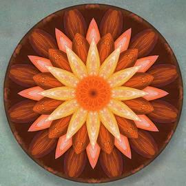 Julie Weber - Pumpkin Mandala -