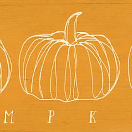 Pumpkins- Art By Linda Woods by Linda Woods