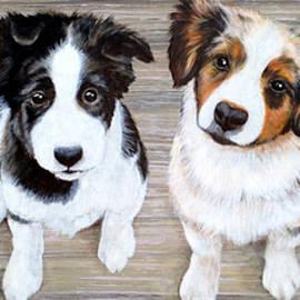 Glenda Stevens - Puppy want a Treat