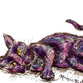Purple Cat by Monique Faella