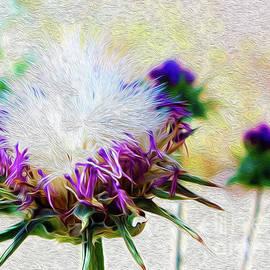 Purple Chaparral  by Jenny Revitz Soper