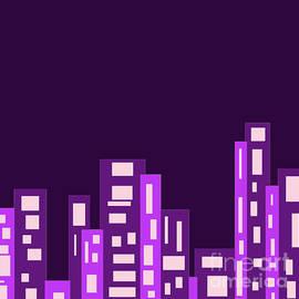Purple City by Joy Watson