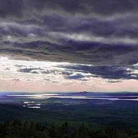 Tran Boelsterli - Purple Clouds over Eagle Lake