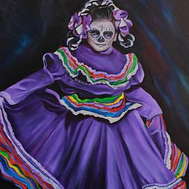 Barbara  Rivera - Purple Dancer 1