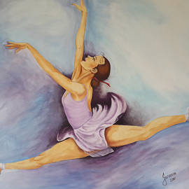 Jeneane Wilson - Purple Dancer