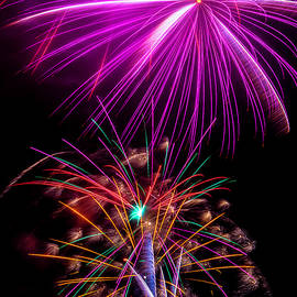 Purple Fireworks - Garry Gay