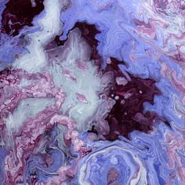 Purple In Winter by Van Maulding