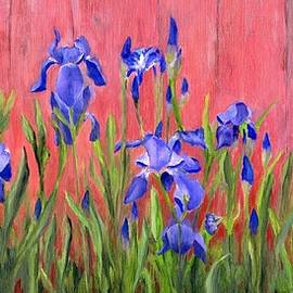 Deborah Butts - Purple Iris